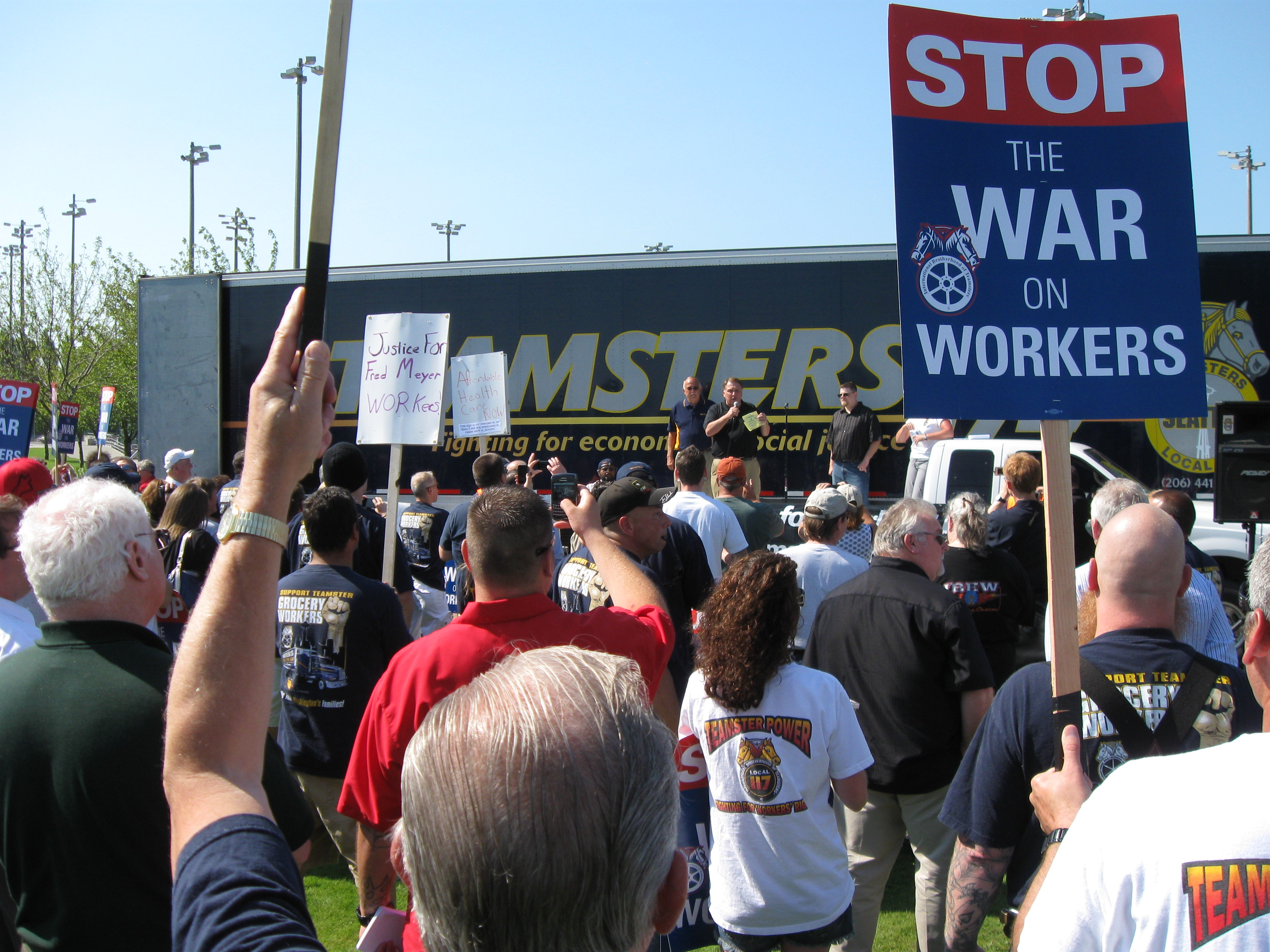 News Archives | Washington Teamster